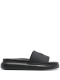 Alexander McQueen Rubber Upper And Sole Sandal Hybrid