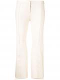 Alexander McQueen asymmetric cropped trousers – White