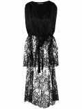 Alexander McQueen long-tailed lace tunic – Black