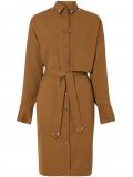Burberry belted shirt dress – Brown