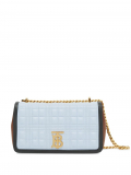 Burberry small Lola quilted crossbody bag – Brown