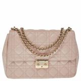 Dior Pink Quilted Leather Medium Miss Dior Shoulder Bag