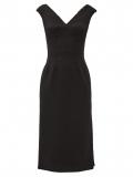 Dolce & Gabbana – V-neck Tailored Wool-blend Dress – Womens – Black