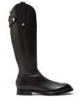 Dolce & Gabbana leather riding boots – Black