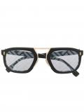 Fendi Eyewear Fendi Force aviator-frame sunglasses – Black
