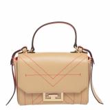 Givenchy Beige Leather Eden Top Handle Bag