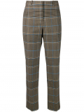 Givenchy check straight-leg trousers – Brown