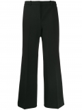 Givenchy cropped wide-leg trousers – Black