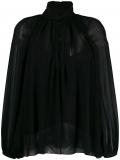 Givenchy hang collar blouse – Black