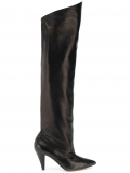 Givenchy over the knee boots – Black