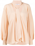 Givenchy pussy-bow blouse – Neutrals