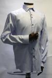Light Blue & White Gingham Patterned Shirt