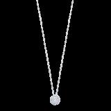Mappin & Webb Masquerade 18ct White Gold 0.30cttw Diamond Pendant
