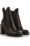 Prada Boots for Women, Booties, Black, Calfskin Leather, 2021, 2.5 3.5 4
