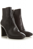 Prada Boots for Women, Booties, Black, Calfskin Leather, 2021, 5 5.5 6.5 7.5 8.5