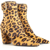 Prada Boots for Women, Booties, Leopard, Pony Skin, 2021, 4.5 5 5.5
