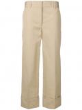 Prada wide-leg tailored trousers – Neutrals