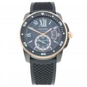 Pre-Owned Cartier Calibre De Carbon Diver Mens Watch W2CA0004/3729