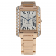 Pre-Owned Cartier Tank Anglaise Ladies Watch WT100003/3503