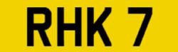 Cherished Plate – RHK 7