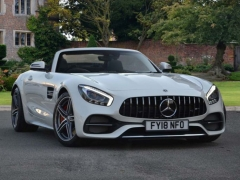Mercedes-Benz Mercedes-AMG GT C Roadster White 2018