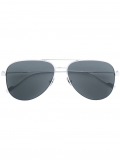 Saint Laurent Eyewear Classic 11 aviator sunglasses – Metallic