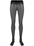 Saint Laurent embellished Monogram tights – Black