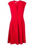 Stella McCartney lace-up dress – Red