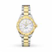 TAG Heuer Aquaracer Gold Plated and Stainless Steel Ladies Watch