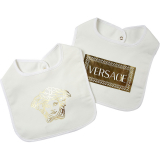 Versace Baby Bodysuits & Onesies for Boys On Sale, White, Cotton, 2021
