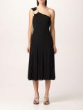 Versace Dress Versace One Shoulder Midi Dress