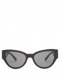 Versace Eyewear – Cat-eye Acetate Sunglasses – Womens – Black Gold