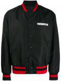 Versace embroidered Medusa bomber jacket – Black